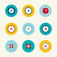 Kompass-Vektor-Sammlung vektor