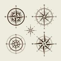 Kompass-Rosen-Sammlung