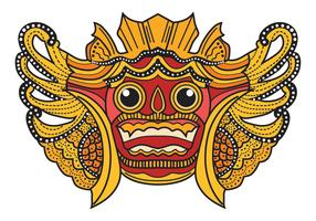Bali Barong Maske