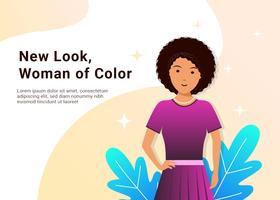 Kvinnor i färgvektor