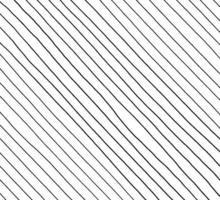 handgezeichnetes abstraktes Muster mit handgezeichneten Linien, Strichen. Satz Vektor-Grunge-Pinsel. gewellte gestreifte, Vektor eps 10 Illustration