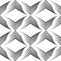 nahtloses Vektormuster von unebenen Linien in Form von Ecken.