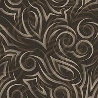 Vektorbeige nahtloses Muster gezeichnet mit einem Stift oder Liner zur Dekoration auf dunklem Hintergrund.