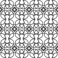 keltisches schwarzes ethnisches Vektormuster mit Weidenelementen. vektor