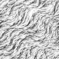 nahtloses monochromes Vektormuster von Spritzern und Pinselstrichen. schwarze Textur auf weißem Hintergrund. vektor