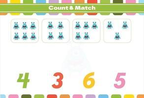 räkningsspel för förskolebarn