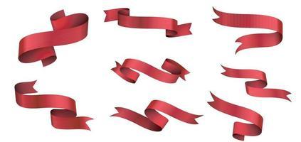 Banner und Bogen, gerade Bürokratie lokalisiert auf weißer Hintergrundillustration vektor
