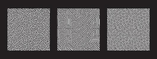 Sammlung von turing abstrakten nahtlosen Muster. vektor