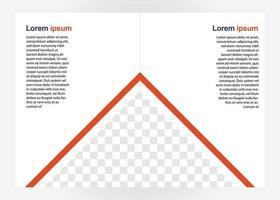 Designvorlage für Geschäftsbroschüren. Perfekt für Broschüren, Marketingwerbung, Präsentation usw. vektor