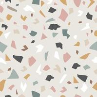 Pastell Terrazzoboden Granito Stein Hintergrund vektor