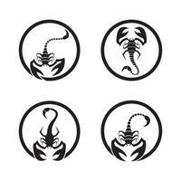 Skorpion Logo Bilder Illustration vektor
