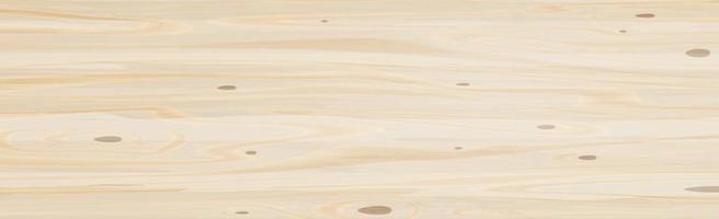 realistische große Platte aus hellem Sperrholz, Holzstruktur - Vektor
