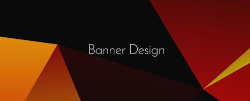 abstrakt elegant geometrisk dekorativ design banner bakgrund vektor
