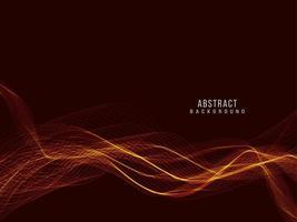 abstrakter stilvoller transparenter fließender Wellenentwurfshintergrund vektor