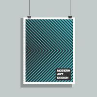 Poster Mock-up vektor