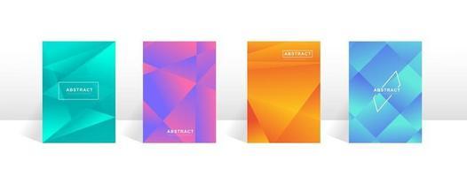 Buchumschlag Design. abstrakte Buchumschlagschablone für Geschäftsvektor. vektor