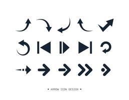 pil ikon samling design. vektor