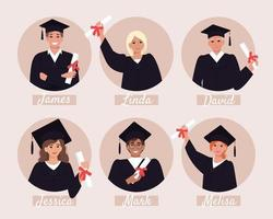 Avatare von Doktoranden, Abschlussalbum vektor