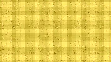 gelber Mikrochip-Technologie-Hintergrund, High-Tech-Digital- und Sicherheitskonzeptdesign, freier Speicherplatz für Text vektor