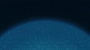 Schatten- und Lichttechnologie-Hintergrund, High-Tech-Digital- und Kommunikationskonzeptdesign, freier Speicherplatz für Text vektor