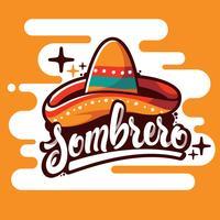 Sombrero-Illustration vektor