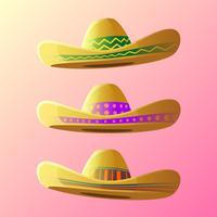 Spaß Sombrero-Vektor