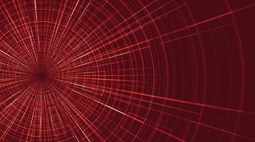 roter Hyperraumgeschwindigkeits-Bewegungshintergrund vektor