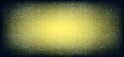 gelber Mikrochip-Technologiehintergrund vektor