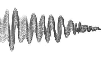 abstrakt ljudvåg vektor