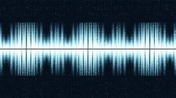 Ultraschall Schallwellenhintergrund vektor