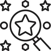 Liniensymbol für die beste Wahl vektor