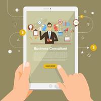 digitale Marketingillustration vektor