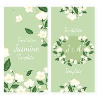 Inbjudan med jasmin