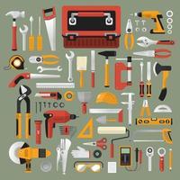 Werkzeugkasten Hardware Vektor veranschaulichen