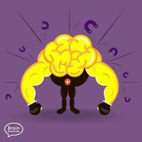 stärkere Gehirnleistung vektor