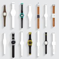 Smartwatch-Symbolelement vektor