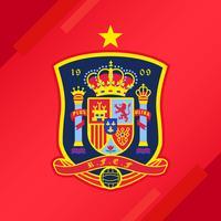 Spanien Fußball Patch