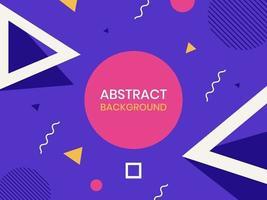 moderne geometrische abstrakte Formen vektor