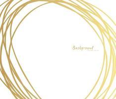 handritad cirkel linjeskiss. vektor cirkulär klotter doodle runda cirklar, bakgrund designelement. penna, penna, graffitibubbla, bollutkastillustration. - vektor