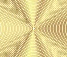 abstrakt guld lyxig färg vektor cirkel halvton bakgrund. gradient retro linjemönster design, gyllene grafik, modern dekoration för webbplatser, affischer, banners, mall eps10 vektor