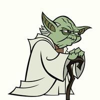 Yoda-Vektor vektor