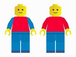 Kostenlos SVG Lego Vektor Mann