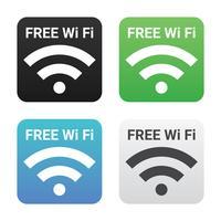 Kostenlose Wi-Fi-Vektor-Symbol vektor