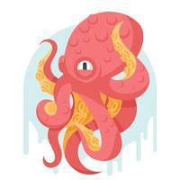 Tintenfisch-Illustration