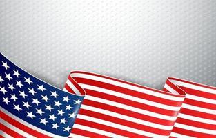 Hintergrund der amerikanischen Flagge vektor