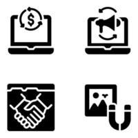 Business-Marketing-Elemente vektor