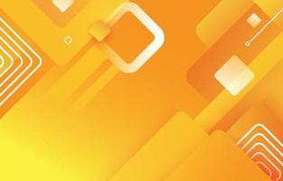 abstrakter geometrischer gelber Hintergrund vektor