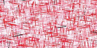 mörk röd vektor textur med färgade linjer.