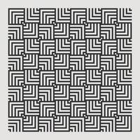 sömlös textur abstrakt mönster för tryckelement design upprepa. fyrkantig illusionell vektor