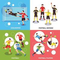 fotbollsspelare design koncept vektorillustration vektor